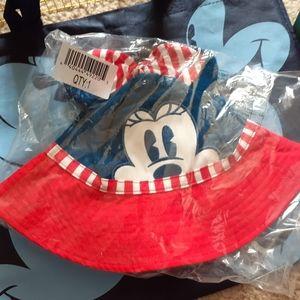 Minnie mouse sun hat